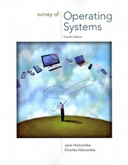 Survey of Operating Systems 4e 4th Edition 9781259175824 1259175820