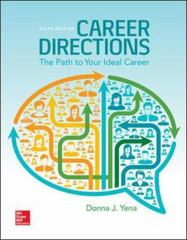 Career Directions: New Paths to Your Ideal Career 6th Edition 9781259181146 1259181146