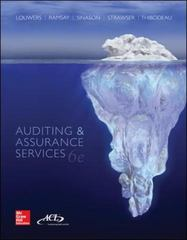 Auditing & Assurance Services with ACL Software Student CD-ROM 6th Edition 9781259197109 1259197107