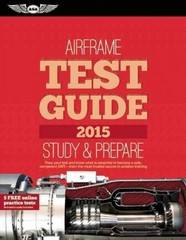 Airframe Test Guide 2015 1st Edition 9781619541443 1619541440