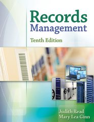 Records Management 10th Edition 9781305445994 1305445996