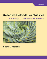 Research Methods and Statistics 5th Edition 9781305257795 1305257790
