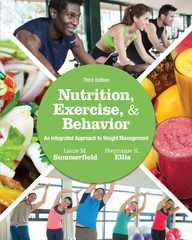 Nutrition, Exercise, and Behavior 3rd Edition 9781305258778 1305258770