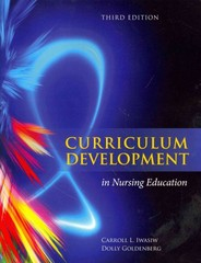 Curriculum Development In Nursing Education 3rd Edition 9781284026269 1284026264