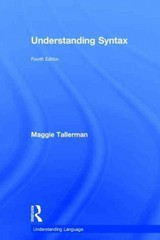 Understanding Syntax 4th Edition 9781317635116 1317635116