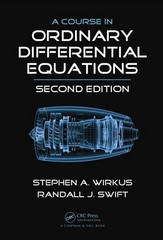 A Course in Ordinary Differential Equations, Second Edition 2nd Edition 9781466509108 1466509104