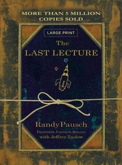 The Last Lecture 1st Edition 9780316335614 0316335614