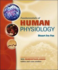 Fundamentals of Human Physiology 1st edition 9780077226350 0077226356