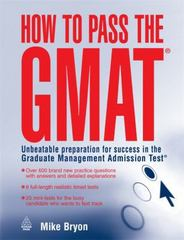 How to Pass the GMAT 0 9780749444594 0749444592
