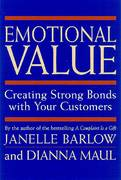 Emotional Value 1st Edition 9781576750797 1576750795