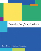 Developing Vocabulary 1st Edition 9780321410702 032141070X