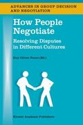 How People Negotiate 1st edition 9781402016004 140201600X