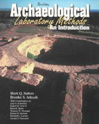 Archaeological Laboratory Methods 3rd edition 9780787281533 0787281530