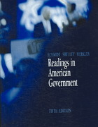 Readings in American Government 5th edition 9780534631710 0534631711
