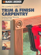Trim And Finish Carpentry Installing Moldings Wainscoting