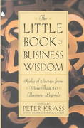 The Little Book of Business Wisdom 1st edition 9780471369790 0471369799