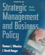 Cases in Strategic Management and Business Policy 9th edition 9780131424067 0131424068