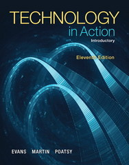 Technology In Action, Introductory 11th Edition 9780133827354 0133827356