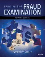 Principles of Fraud Examination 4th Edition 9781118922347 1118922344