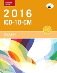 2016 ICD-10-CM Standard Edition 1st Edition 9781455774968 1455774960