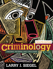 Criminology 12th Edition 9781305261099 1305261097
