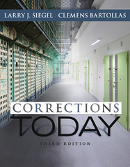 Corrections Today 3rd Edition 9781305261082 1305261089
