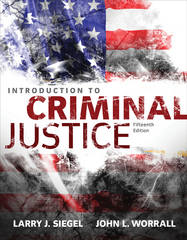 Introduction to Criminal Justice 15th Edition 9781305261044 1305261046