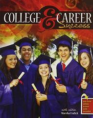 College and Career Success - PAK 6th Edition 9781465240873 146524087X