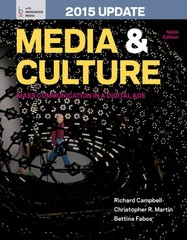 Media and Culture with 2015 Update 9th Edition 9781457642425 1457642425