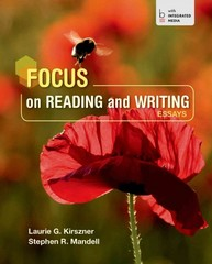 Focus on Reading and Writing 1st Edition 9781457686108 1457686104
