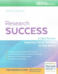 Research Success 1st Edition 9780803639393 0803639392