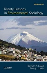 Twenty Lessons in Environmental Sociology 2nd Edition 9780199325924 0199325928
