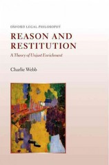 Reason and Restitution 1st Edition 9780191509315 0191509310