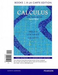 Calculus 2nd Edition 9780321977298 0321977297