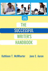 The Successful Writer's Handbook 3rd Edition 9780321972613 0321972619