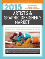 2015 Artist's and Graphic Designer's Market 40th Edition 9781440335686 1440335680