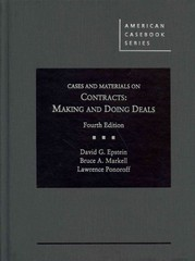Cases and Materials on Contracts 4th Edition 9780314287045 0314287043