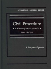 Civil Procedure 4th Edition 9780314287847 0314287841
