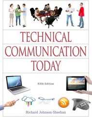 Technical Communication Today 5th Edition 9780321907981 0321907981