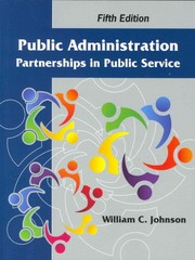 Public Administration 5th Edition 9781478622178 1478622172