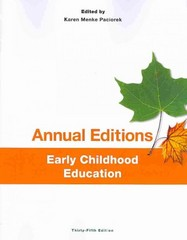 Annual Editions: Early Childhood Education, 35/e 35th Edition 9781259171383 1259171388