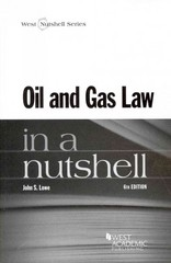 Oil and Gas Law 6th Edition 9780314289582 0314289585