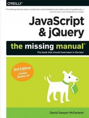 JavaScript and JQuery 3rd Edition 9781491947074 1491947071