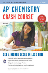 AP Chemistry Crash Course Book + Online 1st Edition 9780738685526 0738685526