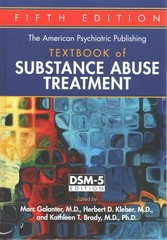 Substance Abuse Treatment 5th Edition 9781585624720 1585624721