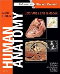 Human Anatomy, Color Atlas and Textbook 6th Edition 9780723438274 0723438277