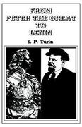 From Peter the Great to Lenin Cb 0 9780714613642 0714613649