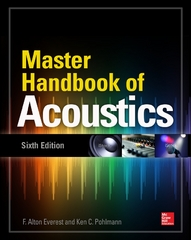 Master Handbook of Acoustics, Sixth Edition 6th Edition 9780071841030 0071841032