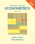 Introduction to Econometrics  Update Plus NEW MyEconLab with Pearson eText -- Access Card Package