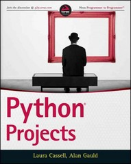 Python Projects 1st Edition 9781118908662 111890866X